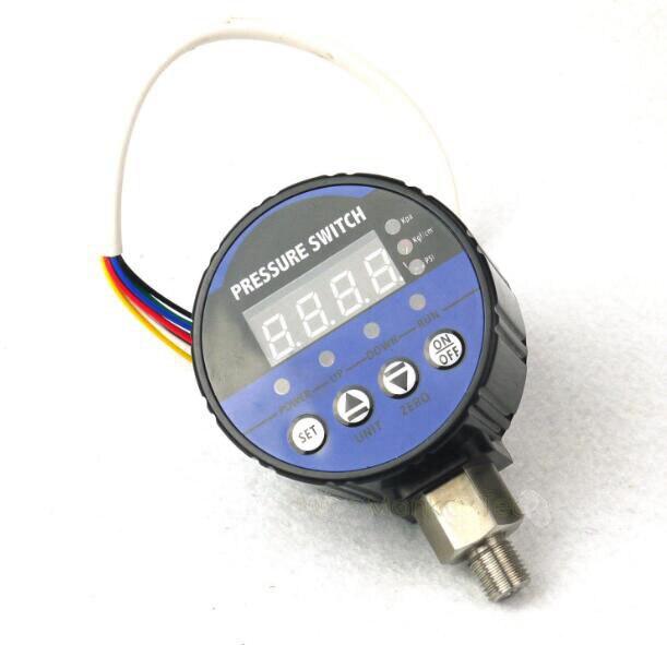 2-канальный цифровой регулятор давления для отрицательного вакуумного воздуха от 0 до 220 МПа