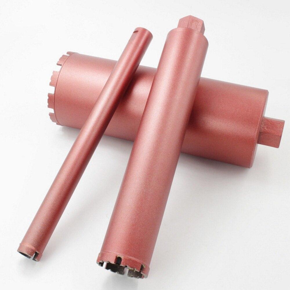 Perfurador de Broca do Núcleo de Concreto Broca de diamante Seco Para A Instalação De Drenagem de Água Da Tubulação Tubos Sem Costura 16/18/ 56/63/76mm