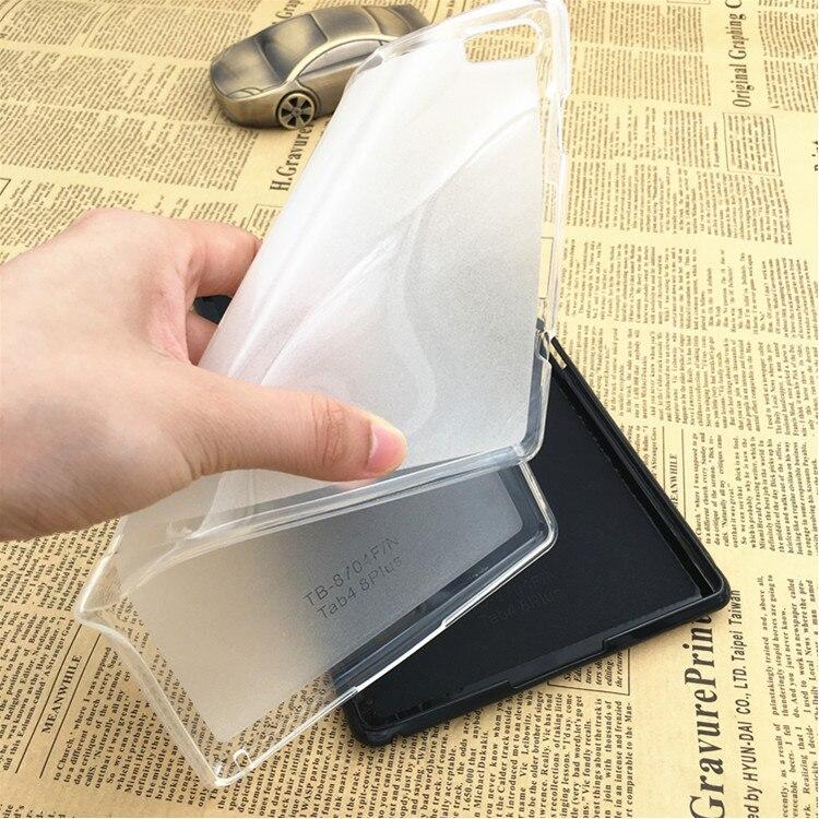 Funda de silicona suave y delgada de TPU para Lenovo Tab4 Tab 4 8 Plus, funda Tb-8704x para tableta TB-8704F para Lenovo Tab 4 8 Plus, Fundas