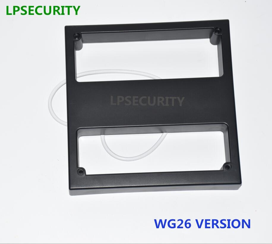 LPSECURITY WG26 largo alcance 125KHz RFID EM lector de tarjeta de identificación de Proximidad Sistema de estacionamiento de Control de acceso