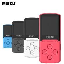 2017 New Original RUIZU X11 MP3 Music Player 1.8 Inch 8G High Quality Lossless Sound Recorder FM Radio Sports 64GB Micro SD Card
