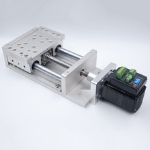 Ballscrew SFU1605 Electric CNC Sliding Table Effective Travel 100~1000mm with 36V Closed Loop Stepper Drive Motor NEMA23 2Nm