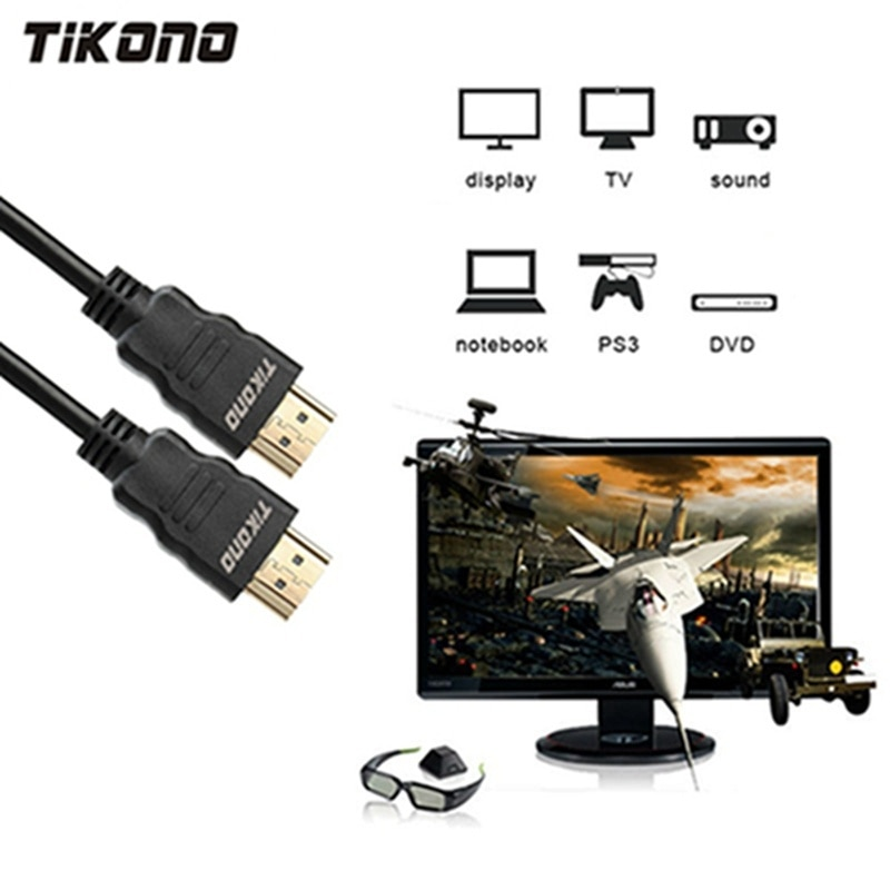 Tikono Cable HDMI Cable macho a macho HDMI HD 1080P de alta...