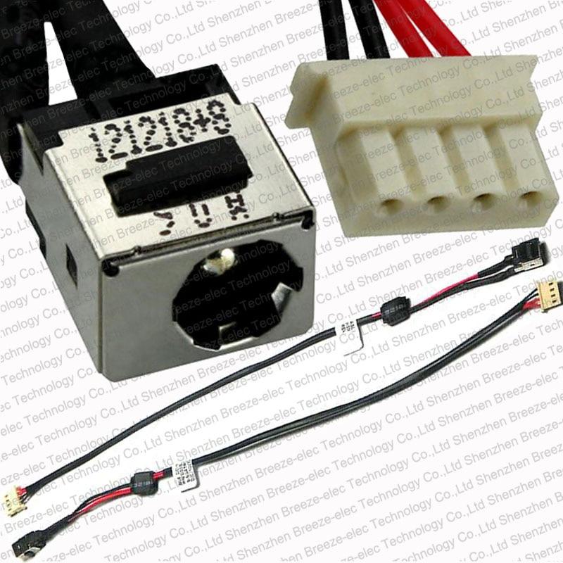 100% протестированный новый ноутбук DC разъем питания кабель провода жгут проводов для Toshiba Satellite L750 L650D T135 T135D L655 L755 DD0BLBPB010