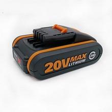 Лучший 20V аккумулятор 4500mah литий-ионный для электроинструмента Worx WX390/WX176/WX166.4/WX372.1 WX800/WX678/WX550/WX532/WG894E WG629E/WG329E/WG2