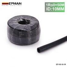 Black ID10MM Silicone Vacuum Hose Pipe High Performance Tubing-50M For BMW E46 M3/330/328/325 M52 M54 S54 EP-VS-10-1R