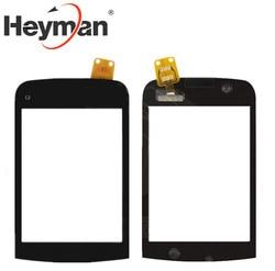 Heyman сенсорный экран для Nokia C2-02, C2-03, C2-06 дигитайзер стеклянная панель передняя стеклянная линза