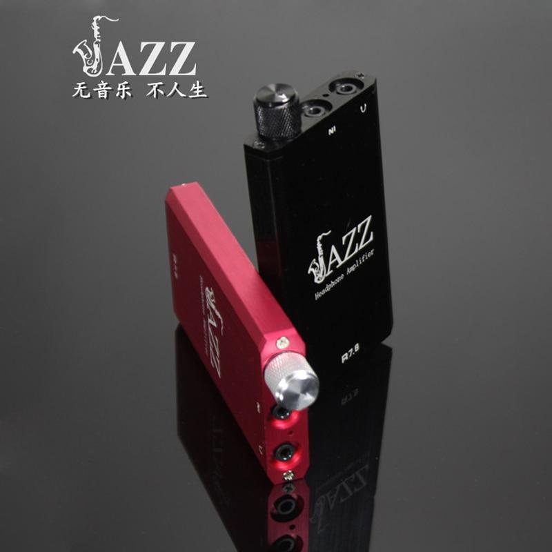 JAZZ R7.8 amplificador portátil HIFI Fever auriculares amplificador de potencia de audio Mini portátil de litio DIY auricular amplificador de auriculares