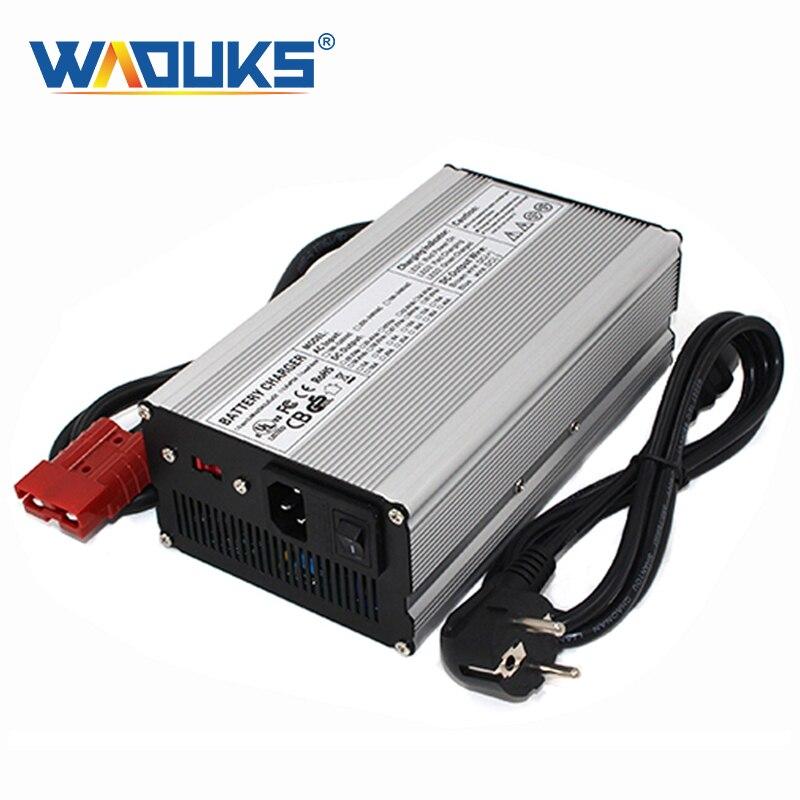 58,4 V 10A LiFePO4 cargador de batería 58,4 cargador para 16S 48V 20Ah 30Ah 40Ah 50AH LFP LiFePO4 Paquete de batería