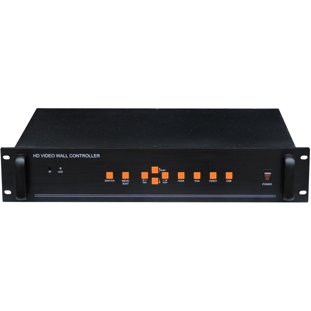4x4 видео настенный контроллер, ТВ настенный процессор для 16 единиц, TK-BOX16 ЖК-телевизор видео настенный контроллер