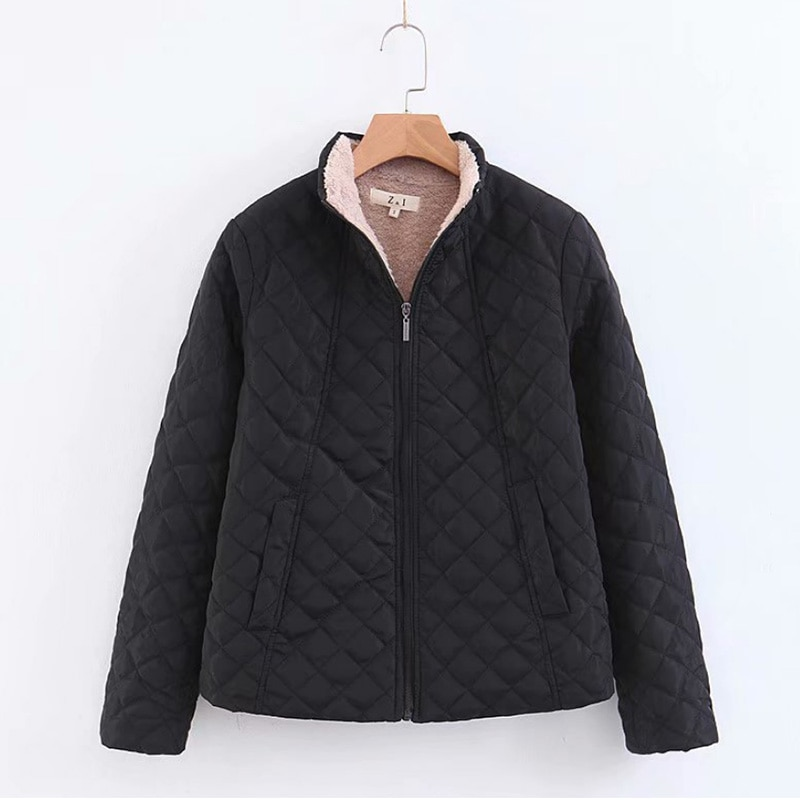 brand fashion winter parka for men thick warm zipper jacket autumn outerwear hooded black military coat mens long jackets Winter Jacket Women Thick Warm Hooded Parka 2019 New Slim Down cotton clothing Long sleeve Coat Female Autumn Outerwear