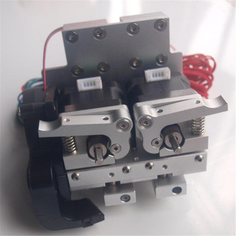 Reprap Prusa i3-عربة بثق من الألومنيوم مع بثق معدني مزدوج ، حاجز خطي PTFE بفوهة 0.4 مللي متر ، 12 فولت/24 فولت