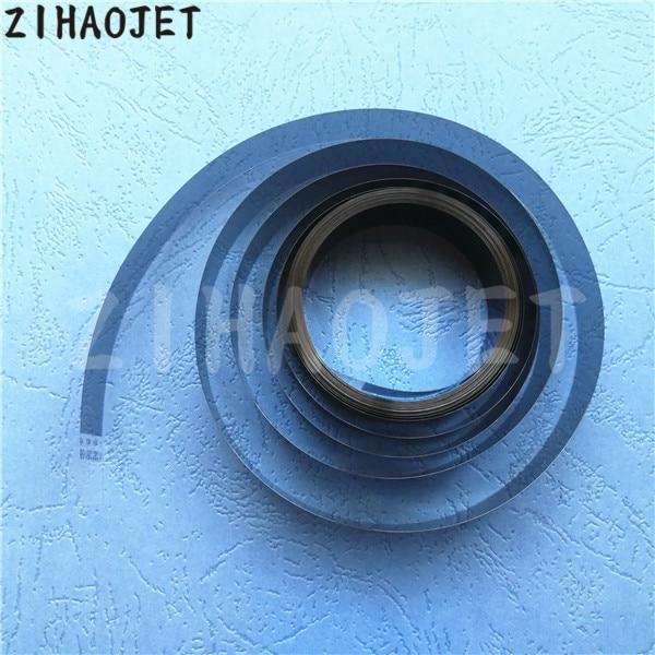 3 pzas/lote impresora de gran formato a infinito Atexco Zhongye Witcolor Icontek Liyu Konica 512 DX5 raster codificador de 4,5 M 180 dpi