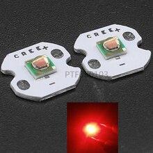 10 pièces X 1-3 W CREE XP-E XPE Photo rouge 660nm LED rouge profond émetteur de LED dido sur 20mm/16mm/14mm/12mm/8mm PCB