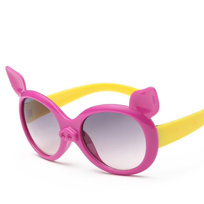 Laura Fadas Estilo Bonito Porco Dos Desenhos Animados Imagem Polarizada óculos de Sol Dos Miúdos UV400 Proteção Óculos de Sol oculos de sol infantil 2017
