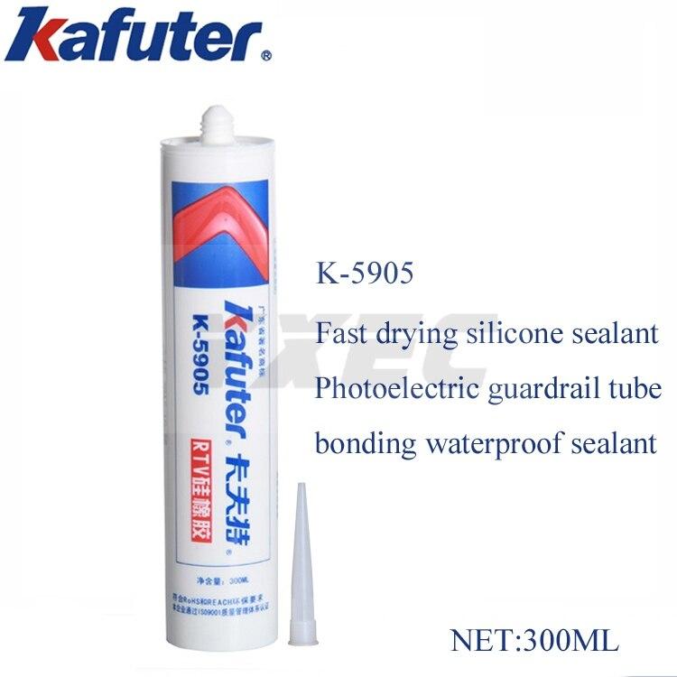 Kafuter 300ml K-5905 secondary optical lens glue LED light source transparent sealant Photoelectric guardrail tube bonding