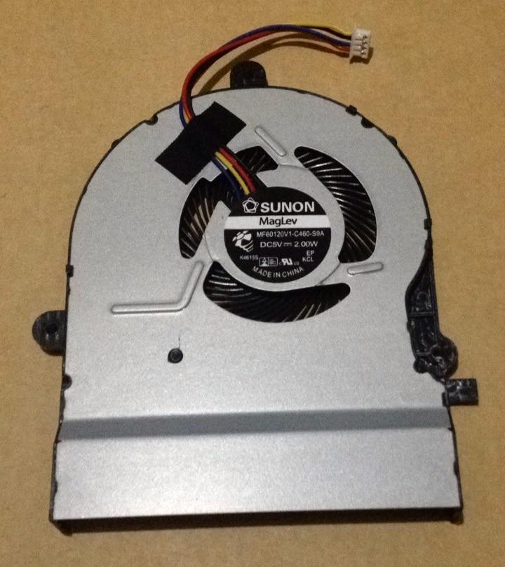 SSEA Atacado New ventilador de Refrigeração da CPU para ASUS A501L K501L K501LX K501UX V505L P/N MF60120V1-C460-S9A