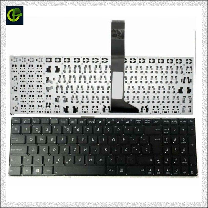 Clavier espagnol Pour ASUS X550 X550C X501 X501A X501U X501EI X501XE X501XI X550CC X550VB X550CA Noir SP Latin LA clavier