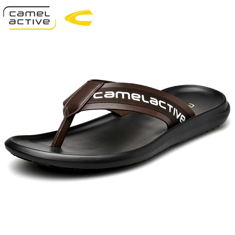 Chinelo de Alta Sandália de Praia Qualidade Masculino Antiderrapante Casual Camel Active 2021 Sapatos Masculinos