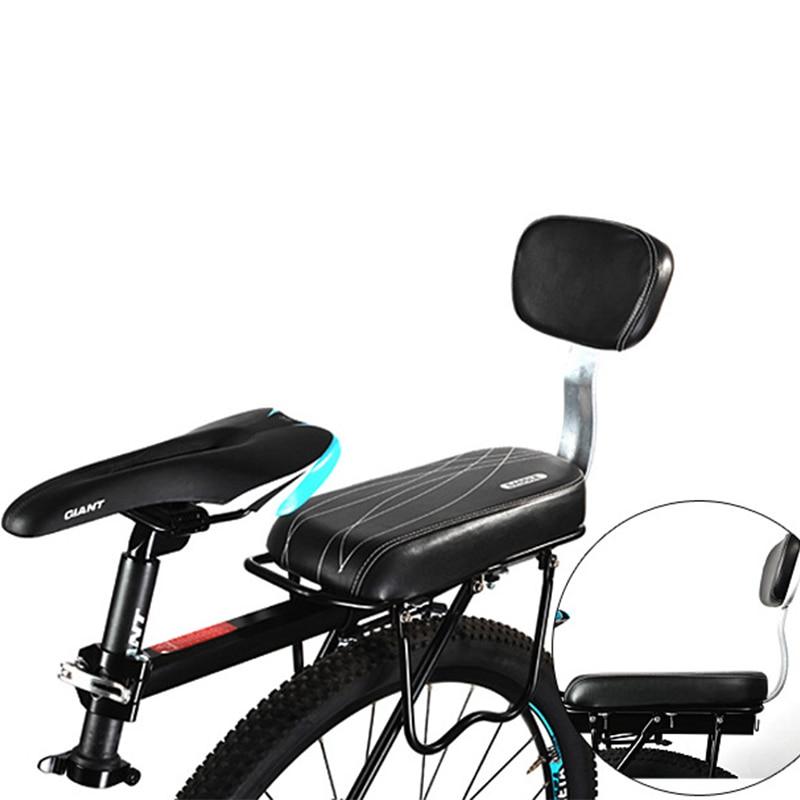 Bicicletas de carretera para hombres suave asimiento Bicicleta esponja alfombrilla para Asiento trasero Sillin Bicicleta Mtb cómodo Potencia Mtb cojín sillín
