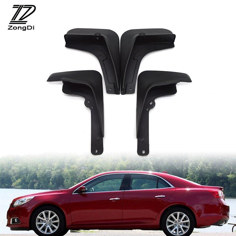 ZD guardabarros para coche apto para Chevrolet Malibu Holden 2013 2014 2015 accesorios protección contra salpicaduras guardabarros delantero trasero guardabarros