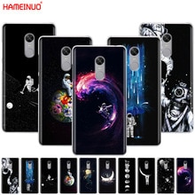 HAMEINUO Newest Space Moon Astronaut Pattern Cover phone  Case for Xiaomi redmi 5 4 1 1s 2 3 3s pro