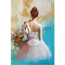 Ballet girl diamond Embroidery diy diamond painting mosaic diamond painting 3d cross stitch diamond picture H772