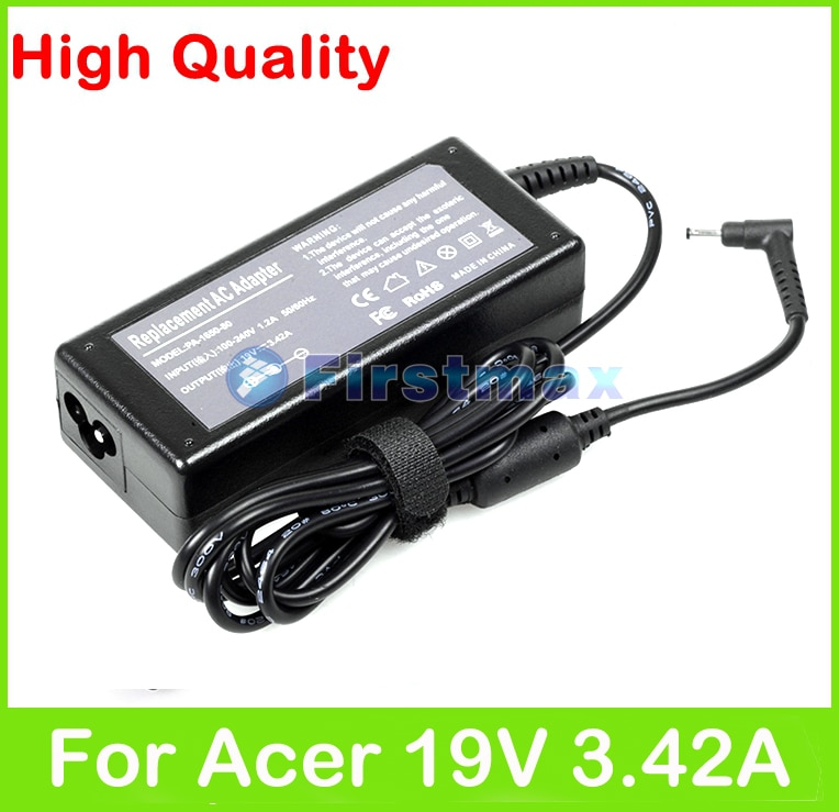 65W 19V 3.42A AC адаптер питания для Acer Chromebook CB5-311 C910 CB3-531 CB5-571 C720 Iconia Tab W700 P236-M X313 зарядное устройство