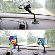 ¡Novedad! soporte Flexible para teléfono móvil para coche de 360 grados soporte ajustable para teléfono móvil para Smartphone soporte GPS de 3,5-6 pulgadas