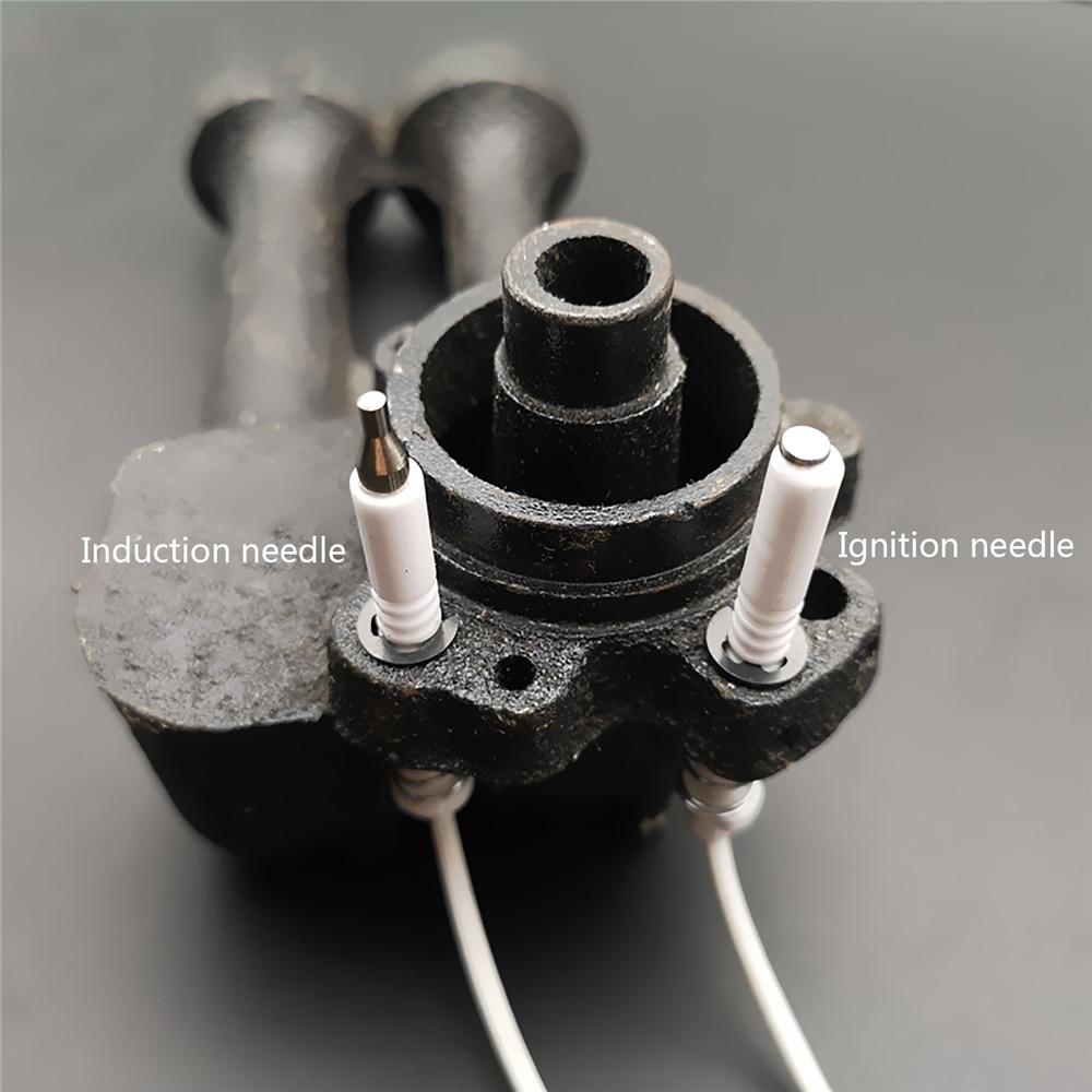 Универсальная игла зажигания/Индукционная игла для газовой плиты керамический электрод зажигания с высокотемпературным сопротивлением провода 490 мм