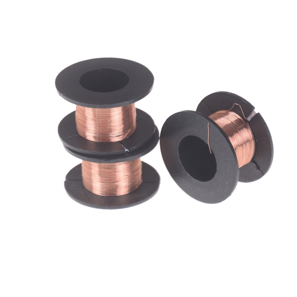 11m/rolo 0.1mm diâmetro fio fino fio de cobre diy rotor esmaltado fio eletroímã diy tecnologia que faz