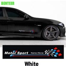 2 stuks kk Motor sport bemblem carrosserie sticker Auto deur sticker Voor bmw F10 F20 F30 1 3 5 GT serie X1 X3 X4 X5 X6