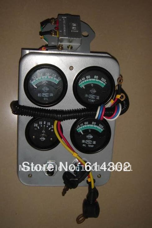 Instrument panel board for weifang 495/K4100 diesel engine spare parts/diesel generator parts