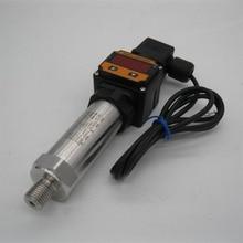0-10bar,12-36VDC, G1/2, 4-20MA output, 0.5%,Digital Display Water Gas Pressure Transmitter Pressure Transducer Sensor