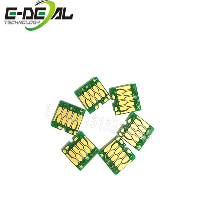 E-deal 5 шт. T6193 чип технического бака для Epson T3000 T5200 T7200 T3270 T5270 T7270 F6000 F6070 F6000 B6070 Постоянный чип