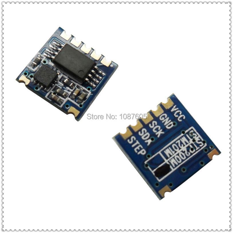 Non Wrist High prescision Ultra-small size IIC Interface 3D MEMS sensor (G sensor) Embedded 3D Pedometer Module STP200M