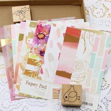 ZFPARTY Mooie Serie Materiaal Papier Set voor Scrapbooking DIY Projecten/Fotoalbum/Card Making Ambachten