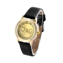 Kobiet Zegarka 2020 New High-end Casual Leather Quartz Watch Relogio Women Rhinestone Dress Watches