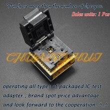 Qfn20 ~ dip20 프로그래머 어댑터 dfn20 mlf20 wson20 테스트 소켓 피치 = 0.5mm 크기 = 4mm * 4mm