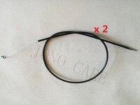 2PCS Throttle Wire Cable For Stihl Trimmer FS120 FS200 FS250 FS300 FS350 FS400 FS480 MORE BRUSH CUTTER ACCELERATOR CABLE