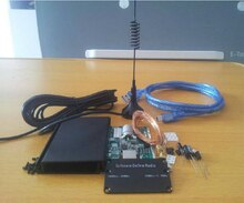 KITs de bricolaje 100 KHz-1,7 GHz completa UV de banda HF RTL-SDR USB sintonizador receptor/R820T + 8232 FM CW