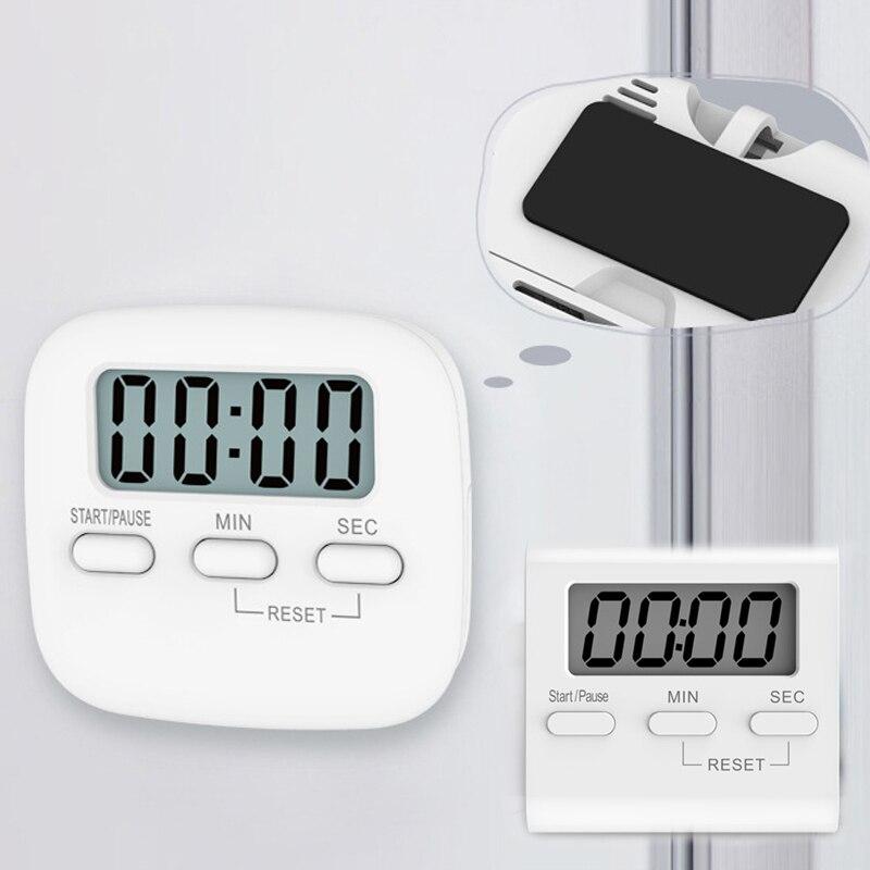Temporizador para estudiantes, Gadgets de cocina, contador de temporizador magnético, alarma, reloj, recordatorio, LCD Digital, cocina, cuenta atrás, utensilios de cocina