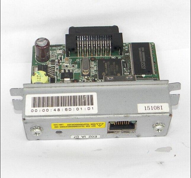 Adaptador M155B RJ-45 para impresora T88IV M129H de recepción de UB-E02 de red para impresoras EPSON
