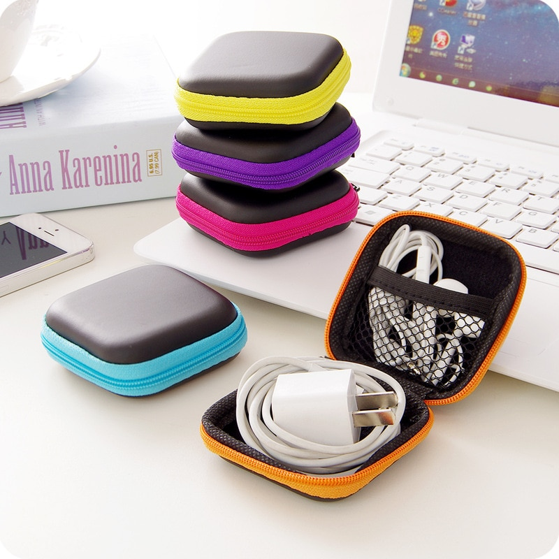 Bolsa organizadora de datos para teléfono, funda para cargador de teléfono, portátil,...