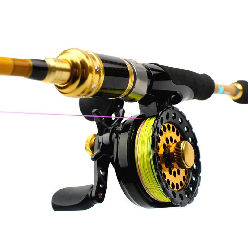 YUYU qualité moulinet de pêche à la mouche eau salée moulinet de glace Ratio 2.61 ligne de poisson roue roulements métalliques 6 + 1BB Baitcasting radeau bobine
