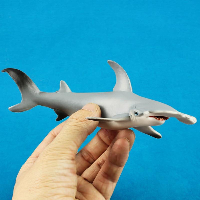 Tiburón ballena mar vida Animal figuras de figuritas de juguete de plástico de ballena asesina organismo marino regalo