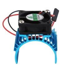 Radiateur et ventilateur en aluminium 550 540 3650   Radiateur, sans brosse Durable, couvercle dévier, moteur électrique pour modèle HSP RC, chaud