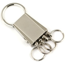 4 boucles de taille suspendus porte-clés porte-clés bouton-pression détachable porte-clés porte-clés chaveiro portachiavi llaveros hombre