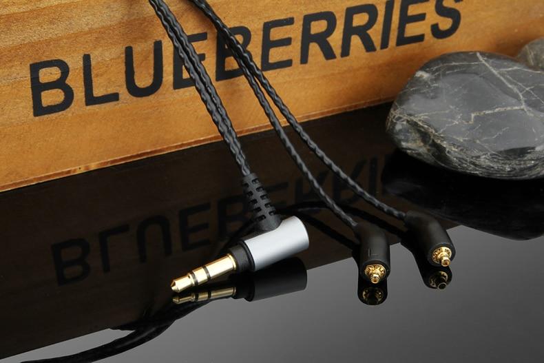 Actualización de la OCC de plata para Cable de Audio para campanile B30 B50 W10 W20 W30 W40 W50 W60 W80 ES10 ES20 ES30 ES40 ES50 ES60 ES80 auriculares