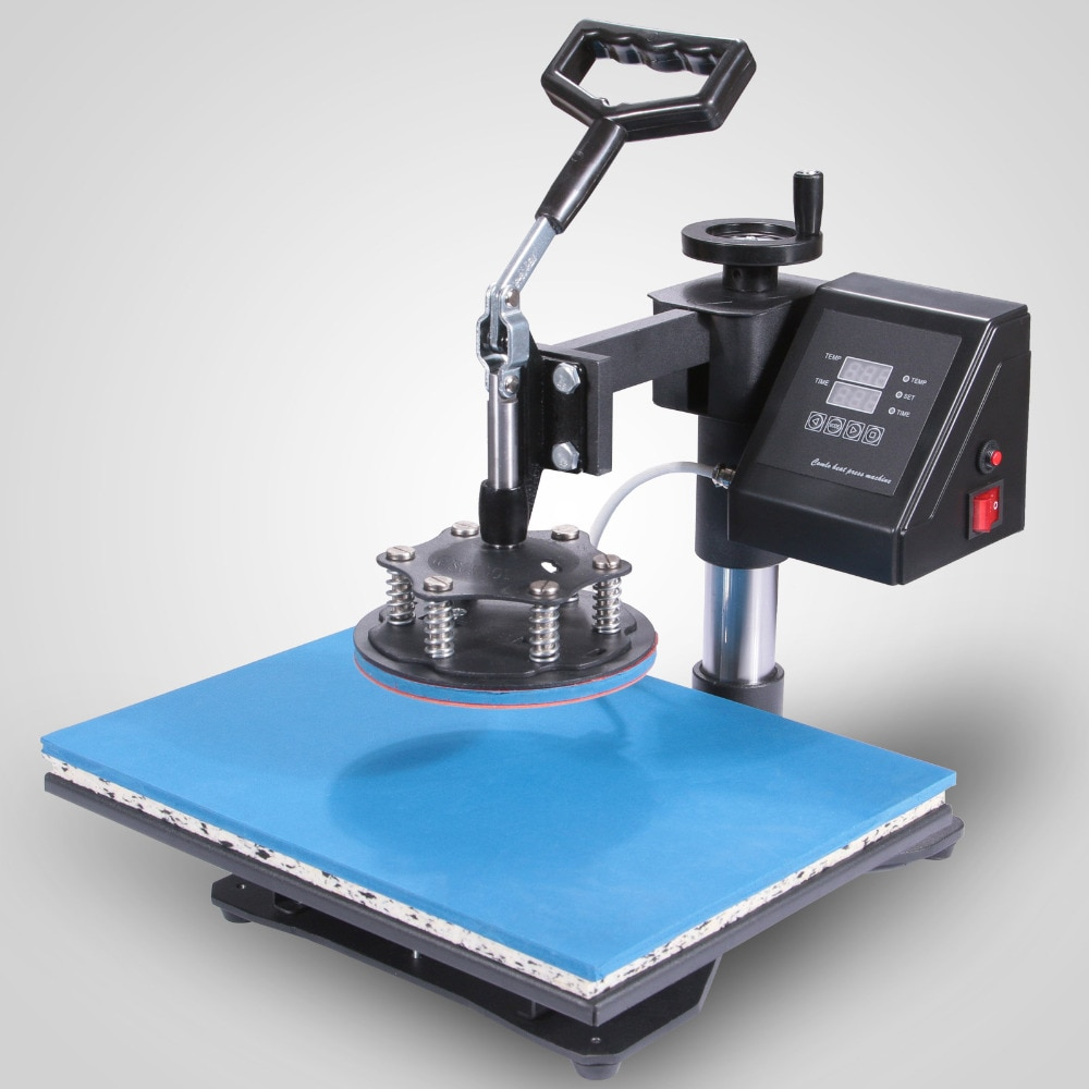 VEVOR Machine dimpression balançoire presse à chaleur 5in1 Combo T-Shirt tasse plaque de Sublimation transfert imprimante